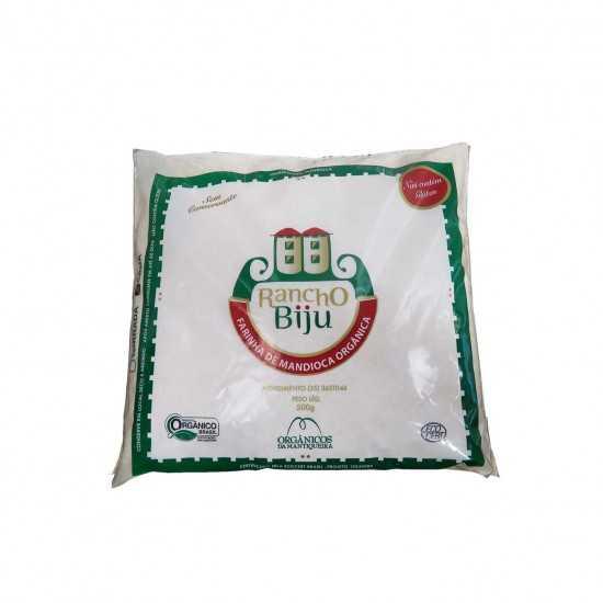 Farinha de Mandioca Crua Orgânica 500g - Rancho Biju