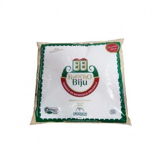 Farinha de Mandioca Torrada Orgânica 500g - Rancho Biju