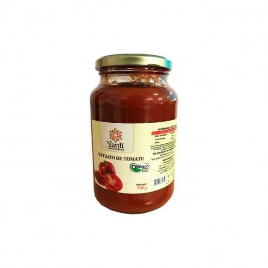 Extrato de Tomate Orgânico 560g - Yanti