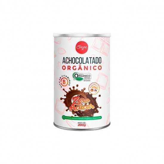 Achocolatado Orgânico Zero Açúcar 200g - Organ Alimentos