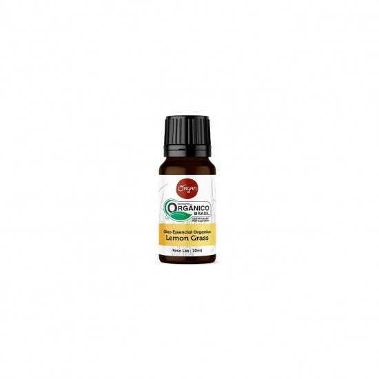 Óleo Essencial Lemongrass/Capim Limão Orgânico 10ml - Organ Alimentos