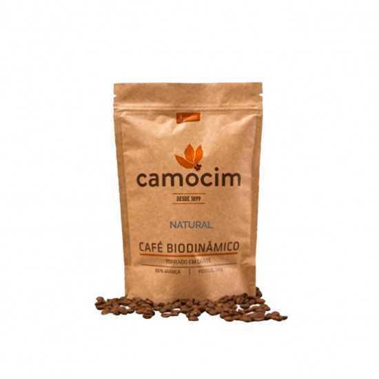 Café Torrado em Grãos Natural Orgânico e Biodinâmico 250g - Camocim