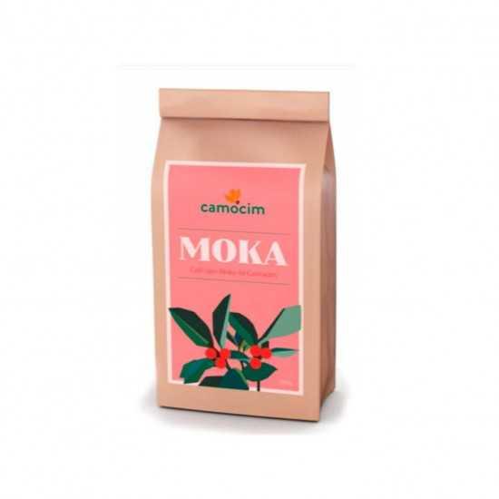 Café tipo Moka Torrado em Grãos Orgânico e Biodinâmico 250g - Camocim