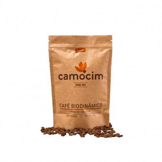 Café Torrado em Grãos Orgânico e Biodinâmico 250g - Camocim