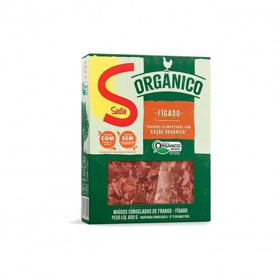 Fígado de Frango Orgânico Congelado 600g - Sadia