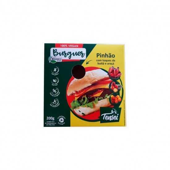 Hambúrguer de Pinhão com Butiá e Araçá Orgânico 200g - Tensei Orgânicos